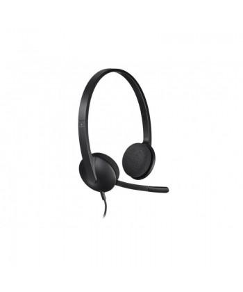 LOGITECH - H340 Cuffie Stereo con microfono USB