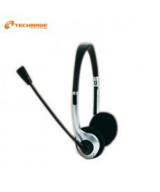 TechMade - CUFFIE CON MICROFONO MHS-111