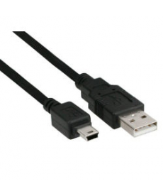 CAVO Mini USB B 5pin a USB 2.0 A 1mt