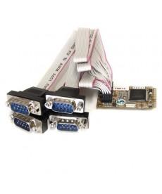 STARTECH - Scheda seriale Mini PCI Express RS-232 a 4 porte con 16650 UART - Mini PCI Express
