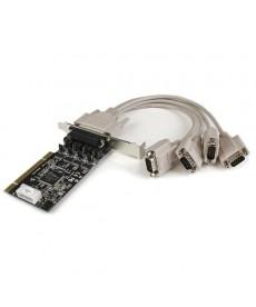STARTECH - Adattatore scheda seriale PCI RS232 a 4 porte con uscita alimentazione - PCI-X - 4