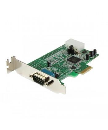 STARTECH - Scheda PCI Express seriale nativa basso profilo a 1 porta RS-232 con 16550 UART - PCI Express