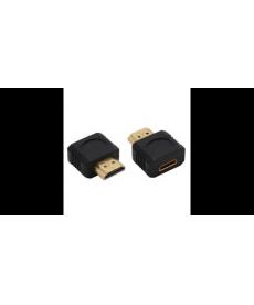 ADATTATORE HDMI M A MINI HDMI F DORATO