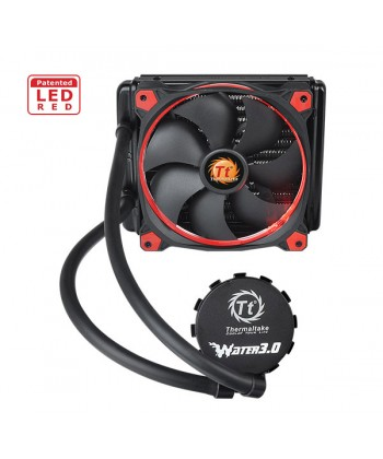 THERMALTAKE - WATER 3.0 Riing RED 140 x Socket 2011 1151 1150 AM3 FM2