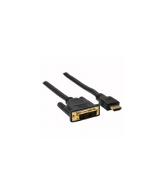 CAVO HDMI - DVI 1,5mt contatti dorati