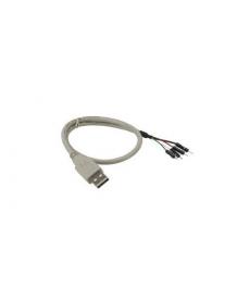 ADATTATORE USB 2.0 INTERNO TYPE A M A TERMINALE 4PIN F 0,4M