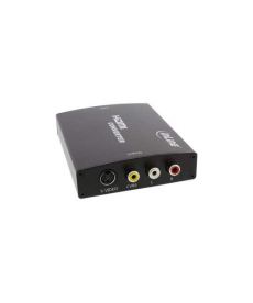 CONVERTITORE DA HDMI A VIDEO COMPOSITO/S-VIDEO E RCA STEREO