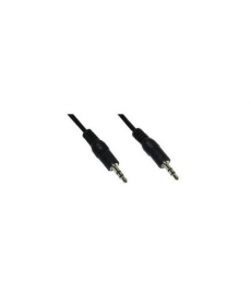 NO BRAND - CAVO JACK 3,5mm M A JACK M 0,3mt