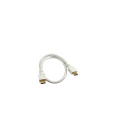 CAVO HDMI 2.0 4K 0,5mt Connettori dorati WHITE