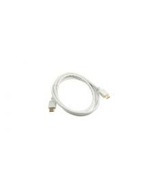 CAVO HDMI 2.0 4K 1,5mt Connettori dorati WHITE