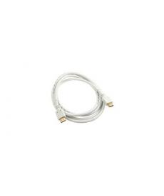 CAVO HDMI 2.0 4K 2mt Connettori dorati WHITE