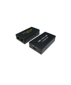 ADATTATORE HDMI EXTENDER 60MT SU CAVO CAT 5E/6
