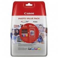 4X6 PHOT PAPER(PP-201 50SHEETS) CYAN XL MAGENTA XL YELLOW XL PHOTO BLACK XL INK TANKS