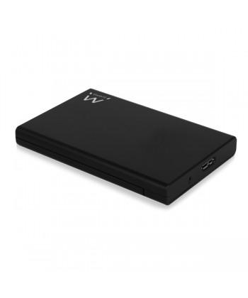 "EWENT - BOX ESTERNO 2.5"" SATA USB 3.1 SENZA VITI BLACK"