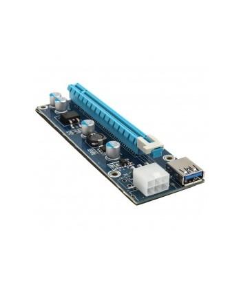 NO BRAND - Riser Card da PCI-E 1x a 16x tramite USB 3.0 1m
