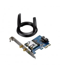 ASUS - PCE-AC55BT WIRELESS AC1200 Bluetooth 4.0 Dual Band PCI-Express
