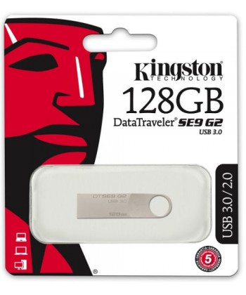 KINGSTON - PEN DRIVE 128GB SE9 G2 USB3.0