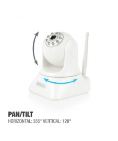 EMINENT - IP CAM PRO PAN/TILT HD WiFi con APP - registrazione su SD Card