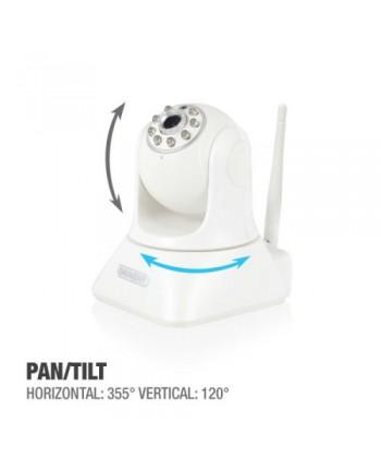 EMINENT - IP CAM PRO PAN/TILT HD CON APP WIFI E MICRO SD