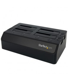 "STARTECH - Docking station per 4 HDD 2.5"" e 3.5"" SATA USB3.0"