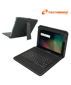 "TechMade - KEY TABLET STAND 9"" CUSTODIA CON TASTIERA PER TABLET"