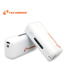 TechMade - POWER BANK 2600 MAH BIANCO