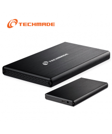 "TechMade - BOX ESTERNO 2.5"" SATA USB 3.0 FULL BLACK"