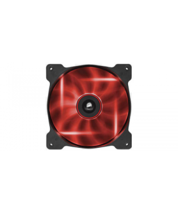 AF140 Led Red Quiet Edition High Airflow Fan 140x140