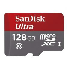 SANDISK - MICROSDXC 128GB + SD ADAPTER