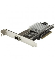 STARTECH - Scheda di rete 10Gigabit Open SFP+ chip Intel PCI Express 8x