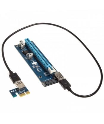 KOLINK - Riser Card da PCI-E 1x a 16x tramite USB 3.0 60cm