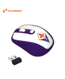 TechMade - MOUSE WIRELESS ACF FIORENTINA