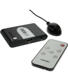 HDMI 3D SWITCH 3 INGRESSI/1 USCITA + TELECOMANDO