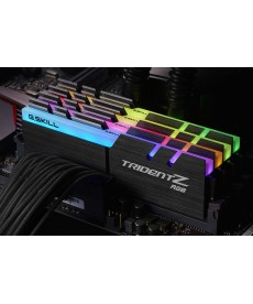G.SKILL - 32GB Kit TridentZ RGB DDR4-3000 CL14 (4x8GB)