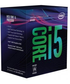 INTEL - CORE i5 8400 2.8Ghz 6 Core Coffee Lake Socket 1151v2 BOXED