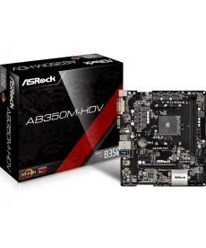 ASROCK - AB350M-HDV DDR4 M.2 Socket AM4