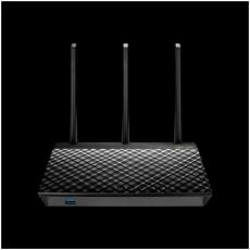 GIGABIT ROUTER WIRELESS AC1900 DUAL BAND 1300+600 802.11 A-B-G-N-AC / DUAL CORE CPU / SUPPORTO 3G-4G LTE / 2 PORTE USB ALIMENTAT