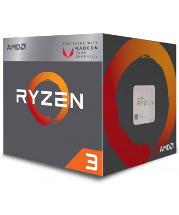 AMD - Ryzen 3 2200G 3.7Ghz 4 Core Radeon Vega 8 Socket AM4 BOXED
