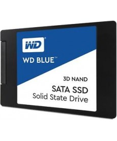 WESTERN DIGITAL - 500GB SSD WD Blue 3D Sata 6Gb/s
