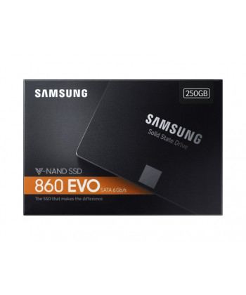 SAMSUNG - 250GB 860 EVO Basic SSD Sata 6Gb/s