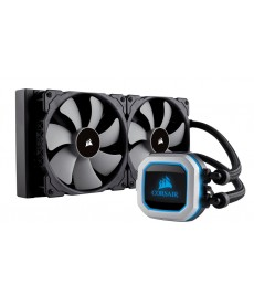 CORSAIR - HYDRO SERIES H115i Pro RGB 280mm x Socket 2066 2011 1151 AM3 FM2
