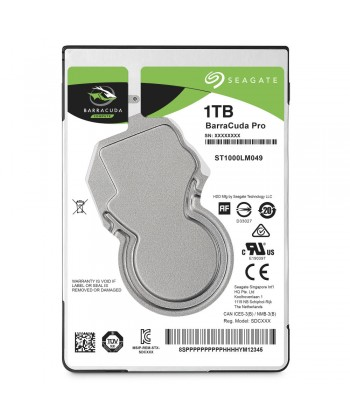 "SEAGATE - 1TBGB Barracuda Pro Sata 2.5"" Cache 128MB 7mm"