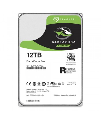 SEAGATE - 12TB BARRACUDA PRO - Sata 6GB/S 256mb