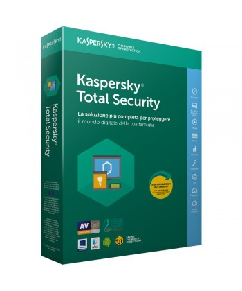 KASPERSKY - Total Security 3 utenti