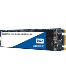 WESTERN DIGITAL - 500GB SSD WD Blue 3D M.2