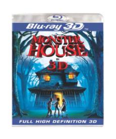 MONSTER HOUSE 3D - BLU RAY 3D LINGUA INGLESE