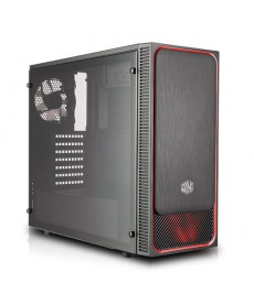 COOLER MASTER - MasterBox E500L Red + Window (no ali)