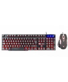ITEK - Taurus T16M2 Kit Tastiera retroilluminata mouse Gaming 2400DPI