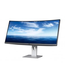 "DELL - U3415W 34"" 3440 x 1440 Curved DisplayPort HDMI"