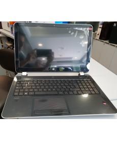 """HP - HP PAVILION AMD A4 -5000 QUAD CORE 4GB 500GB 15.6"""" RADEON HD 8330 WIN 10 HOME GARANZIA 30gg batteria e schermo led nuovo"""